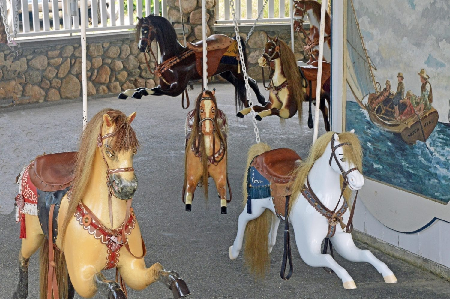 The Watch Hill Flying Horse Carousel